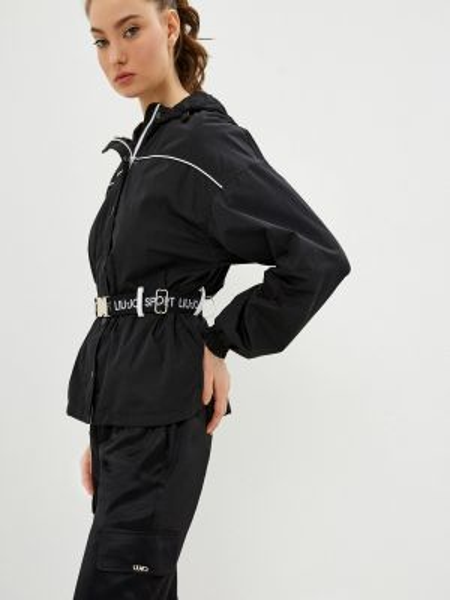 Спортивная куртка черная весенняя Liu Jo Sport