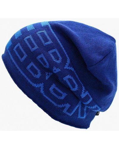 Синяя шапка бини Reebok
