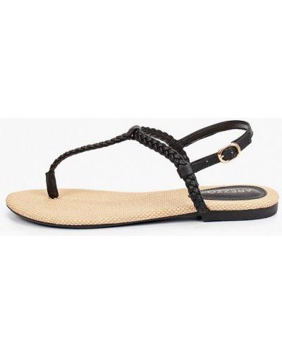 Черные сандалии Arezzo