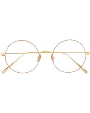 Желтые очки круглые Kaleos