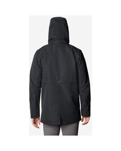 Черная куртка мембранная на молнии Columbia