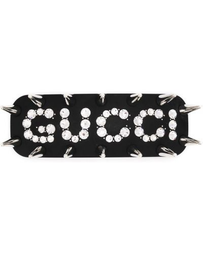 Spinka do włosów metal czarny Gucci