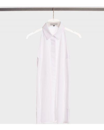 Хлопковая рубашка - белая Barbara Bui