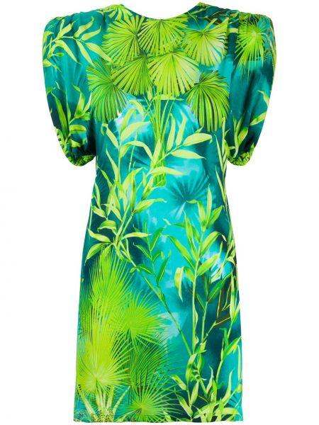 Sukienka mini chudy zielona Versace