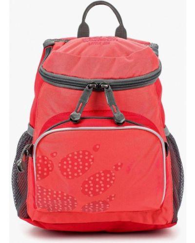 Рюкзак кожаный розовый Jack Wolfskin