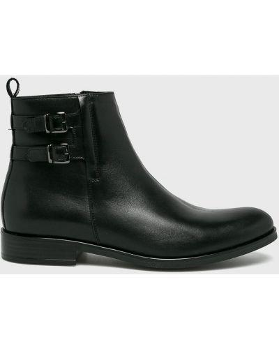 Кожаные ботинки высокие повседневные Conhpol