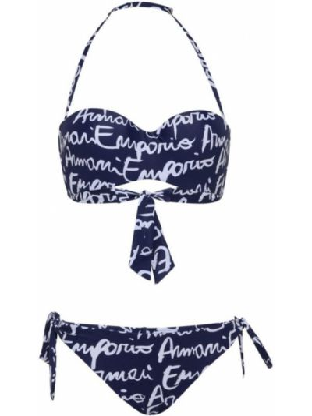 Синий купальник Ea7 Emporio Armani