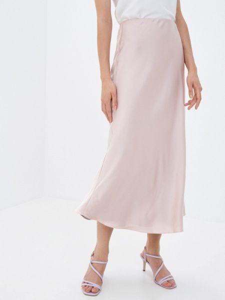 Разноцветная юбка - серая Clabin