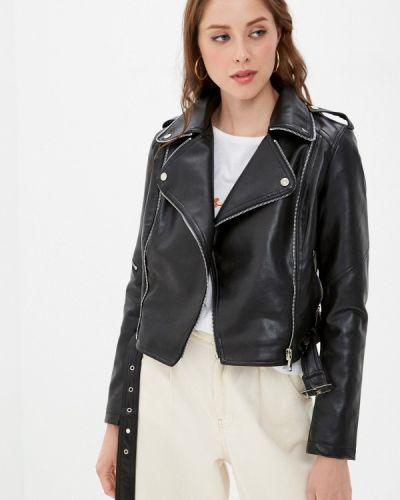 Черная кожаная куртка Adrixx