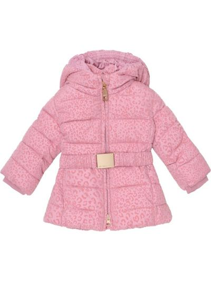 Розовое зимнее пальто Monnalisa
