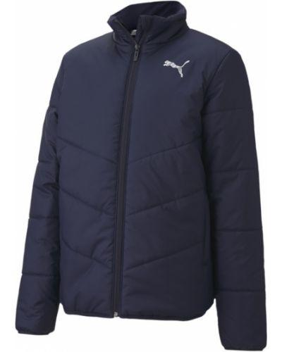 Синяя теплая куртка Puma