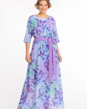 Платье макси с поясом платье-сарафан Merlis