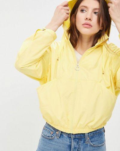 Желтая куртка облегченная Tommy Hilfiger