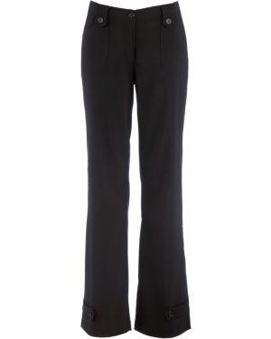 Свободные брюки с накладными карманами с карманами Bonprix