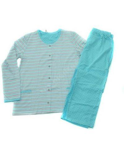 Хлопковые белые брюки с карманами Cornette
