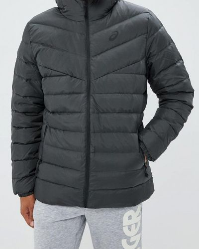 Зимняя куртка осенняя серая Asics