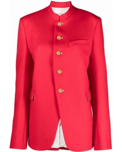 Пиджак с воротником-стойка - красный Philosophy Di Lorenzo Serafini