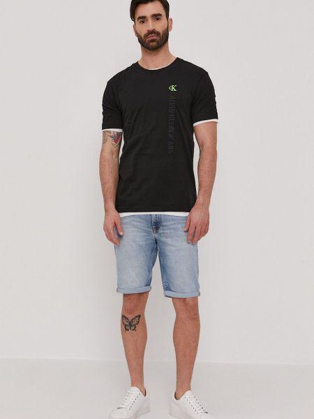 Джинсовая футболка Calvin Klein Jeans