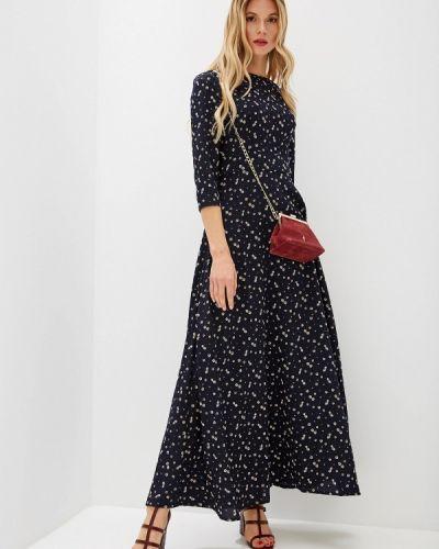 Платье - синее Genevie