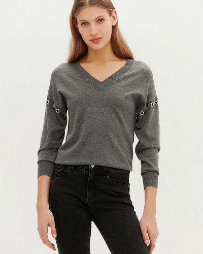 Серый пуловер Love Republic