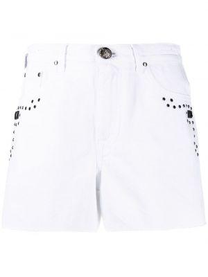 Хлопковые белые шорты с карманами Jacob Cohen
