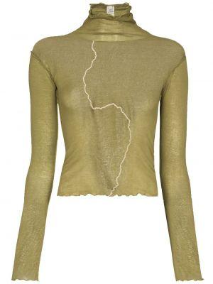 Zielony sweter bawełniany Baserange