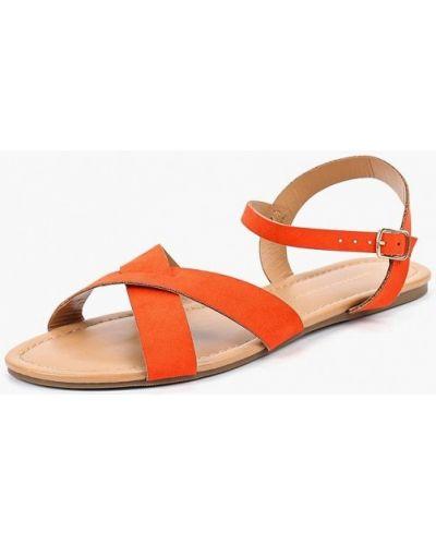 Оранжевые сандалии Dorothy Perkins