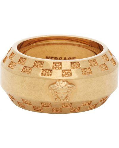 Кольцо - золотое Versace
