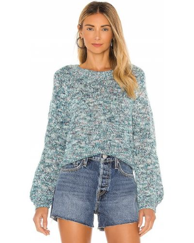 Пуловер классический - синий Cupcakes And Cashmere