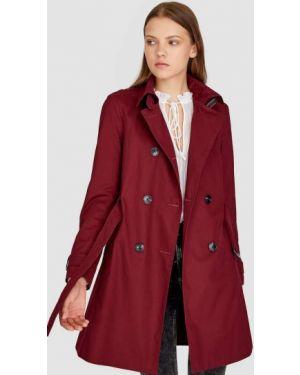 Пальто пальто-тренч с воротником Stradivarius