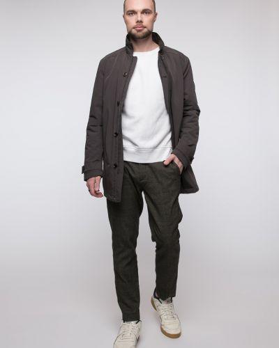 Утепленная серая куртка с воротником Snowimage