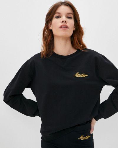 Черная свитшот Moschino Underwear