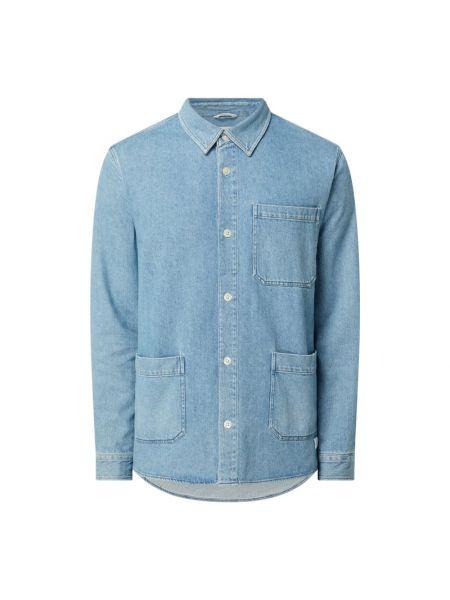 Koszula jeansowa - niebieska Nowadays