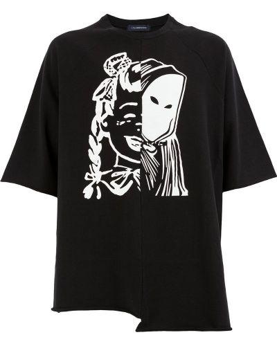 Черная футболка Johnundercover