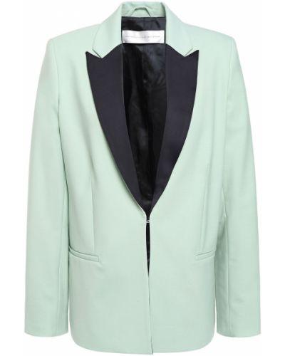 Шерстяной пиджак с карманами на пуговицах Victoria Victoria Beckham