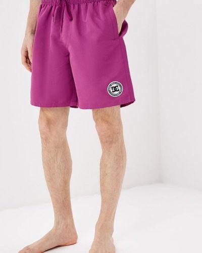 Плавки-боксеры плавки-шорты фиолетовый Dc Shoes