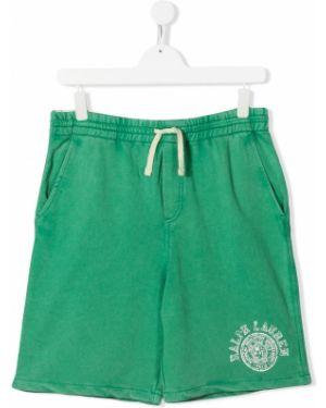 Шорты зеленый короткие Ralph Lauren Kids