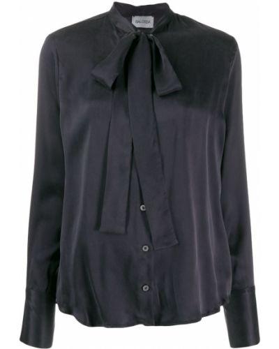 Блузка с длинным рукавом с декольте с манжетами Balossa White Shirt