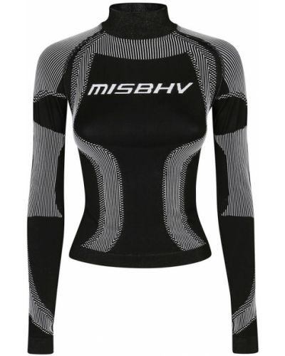 Czarna koszulka Misbhv