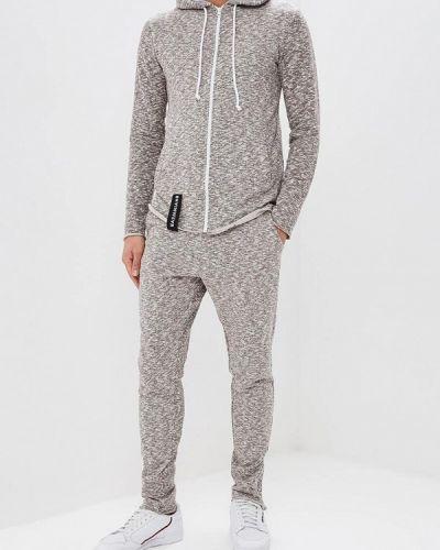 Спортивный костюм серый Brainwear