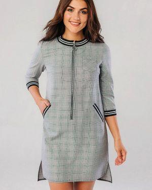 Платье - серое Vsv