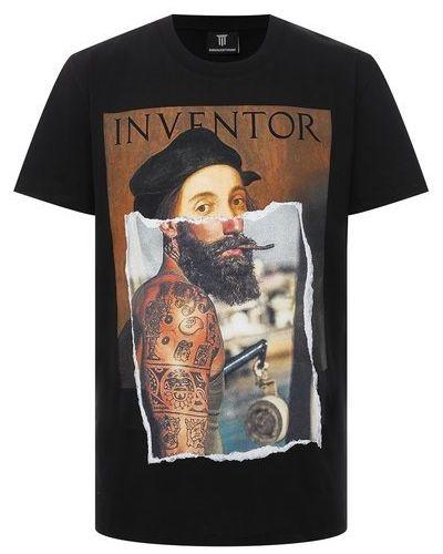 Хлопковая футболка Diego Venturino