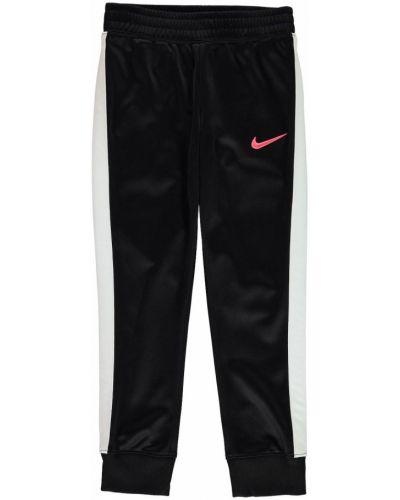 Prążkowane spodnie z haftem Nike