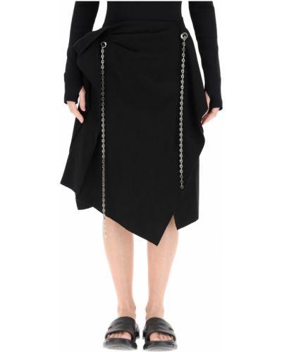 Czarna spódnica elegancka Givenchy