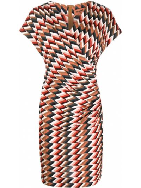 Платье мини короткое - белое Missoni