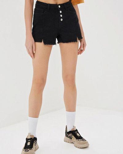 Джинсовые шорты черные Elardis