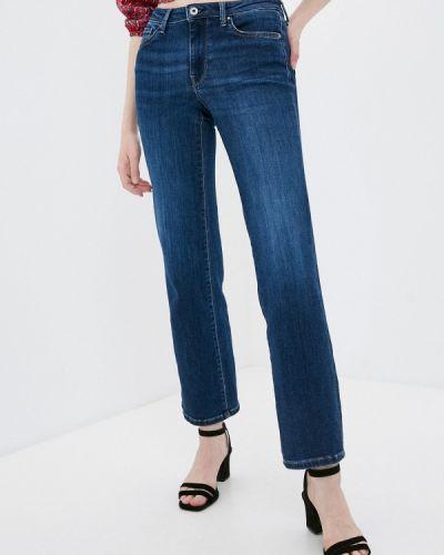 Расклешенные синие широкие джинсы Pepe Jeans