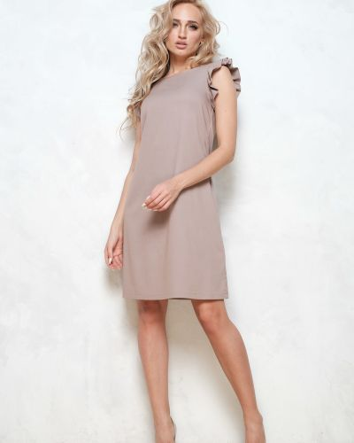 Большое платье без рукавов Leleya