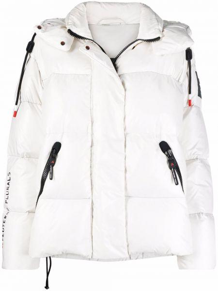 Куртка с капюшоном - белая Peuterey