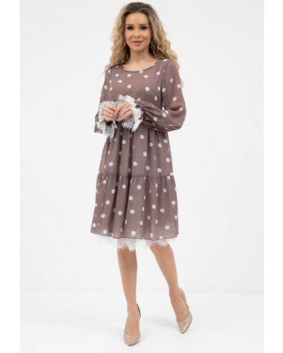 Повседневное шифоновое кружевное платье Wisell
